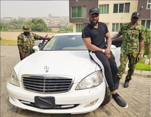 """Welcome my new baby"" Harrysong unveil his brand new bulletproof car"