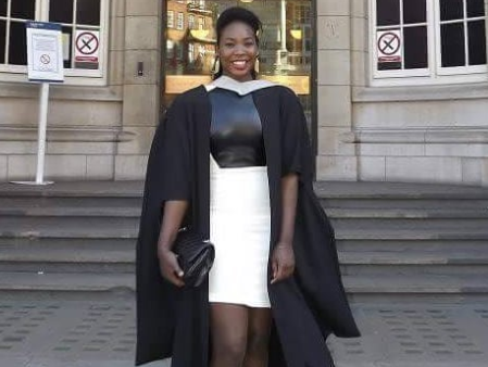 Meet the beautiful 28-year-old Nigerian lady who recently bagged a Ph.D
