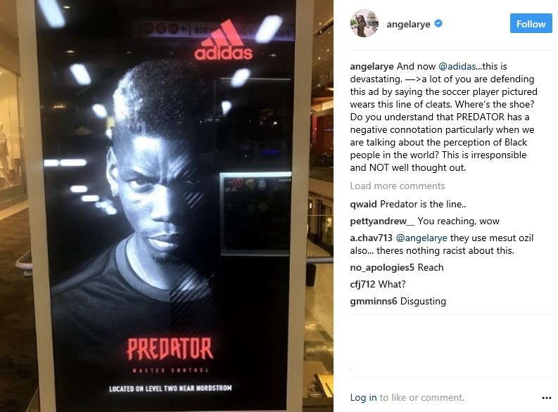 CNN commentator Angela Rye receives backlash after trying to portray Adidas as racist for using Paul Pogba in their Predator ad