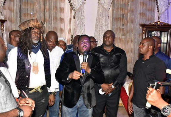 More photos from Senator Dino Melaye