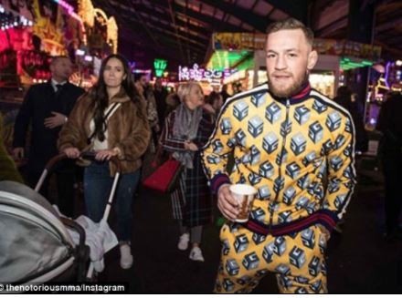 UFC star Conor McGregor rents an entire amusement park for just his family and friends to celebrate the New Year (Photos)