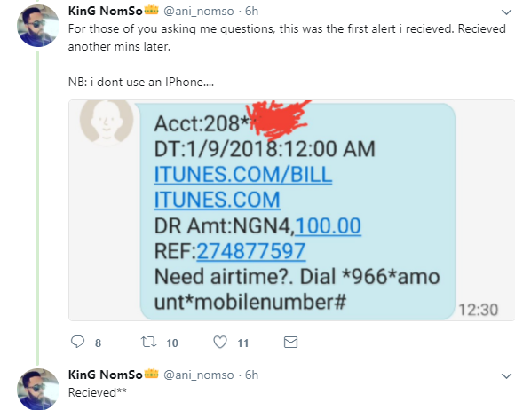 Nigerian man left devastated after someone hacked his account and used his money to shop on Apple store