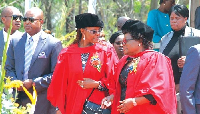 Zimbabwe anti-corruption Investigators probe Grace Mugabe