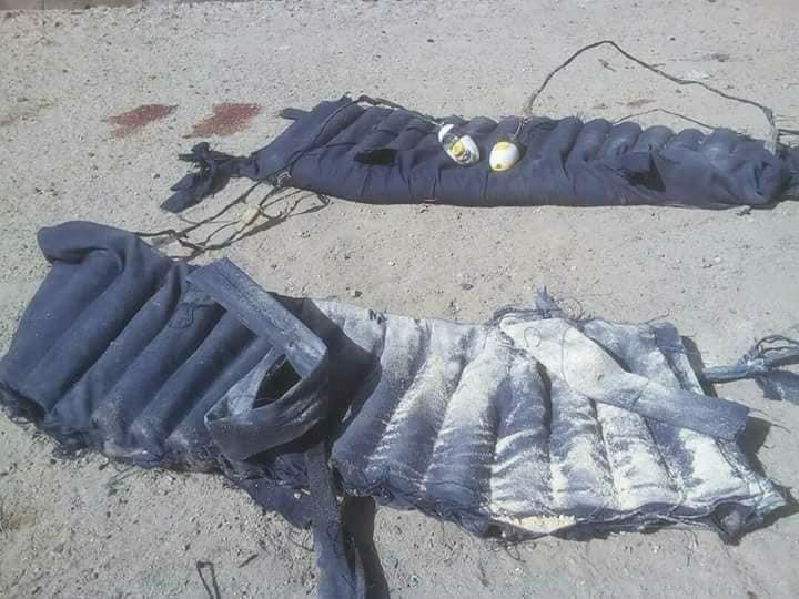 Photos: Troops avert major suicide bomb attack on Gamboru town