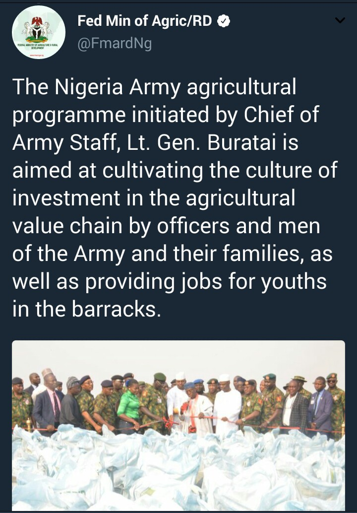The Nigerian army has over 1000 cows and they are bred on ranches not roaming all over the place