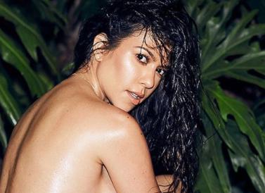 Kourtney Kardashian strips completely naked  for her  Instagram Fans