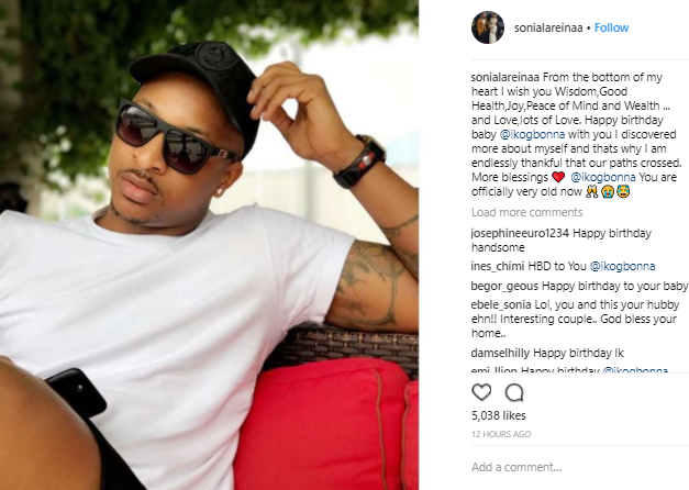 Sonia Ogbonna Sends Loving Birthday Message To Her Husband