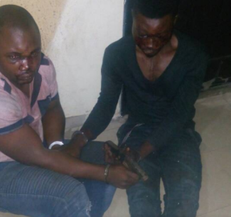 Photo: Two notorious kidnappers arrested in Lagos