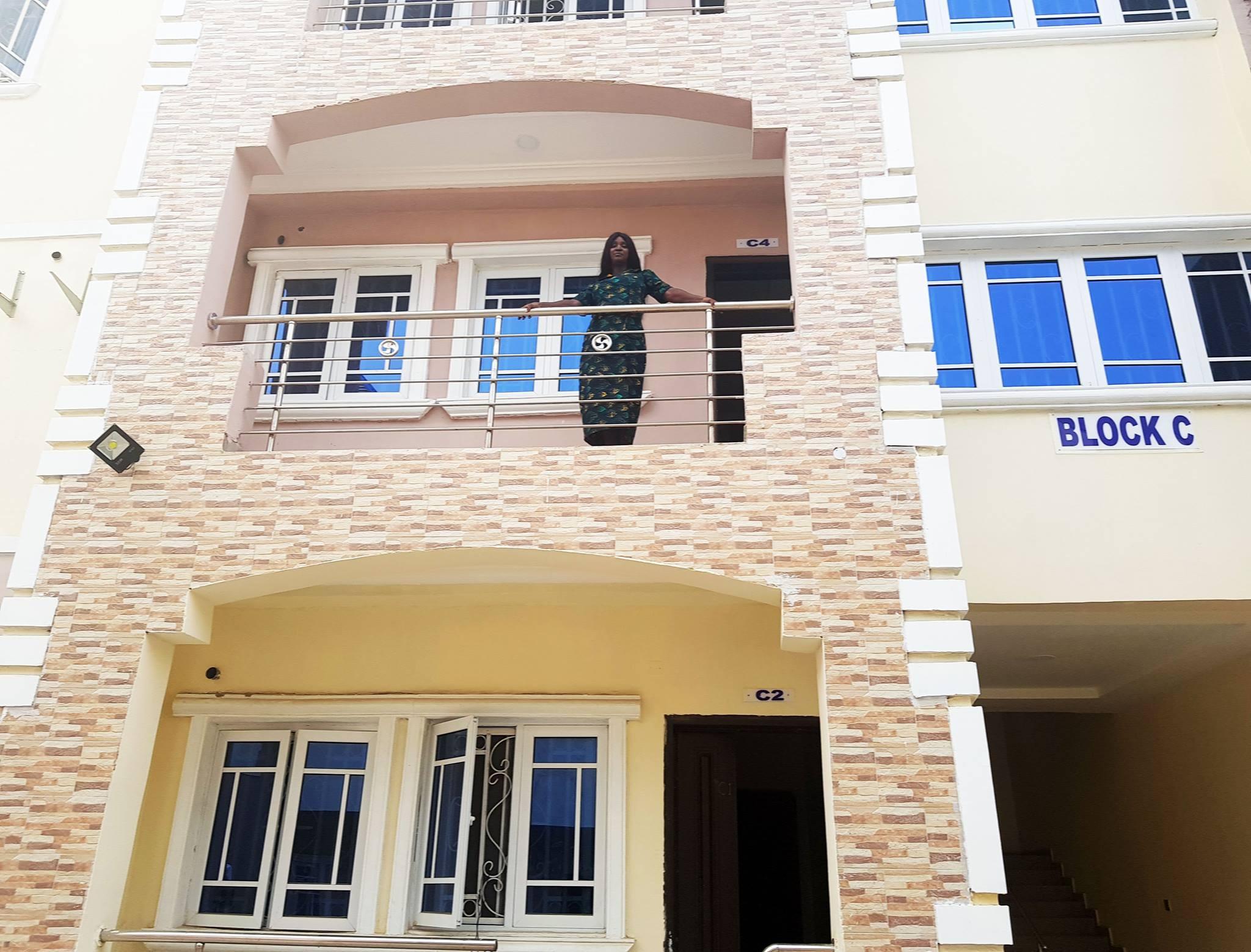 Ebonyi lawmaker, Maria Ude Nwachi shows off her new Maitama, Abuja house
