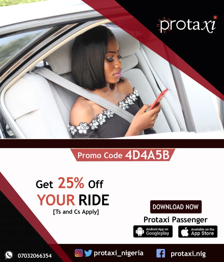 Hello Lagos???.Ride professionally in 2018 with ?Protaxi Passenger?, the latest Taxi APP service