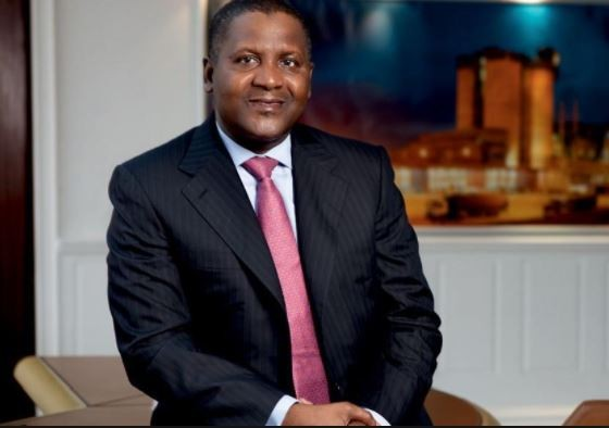 Forbes names Dangote Africa