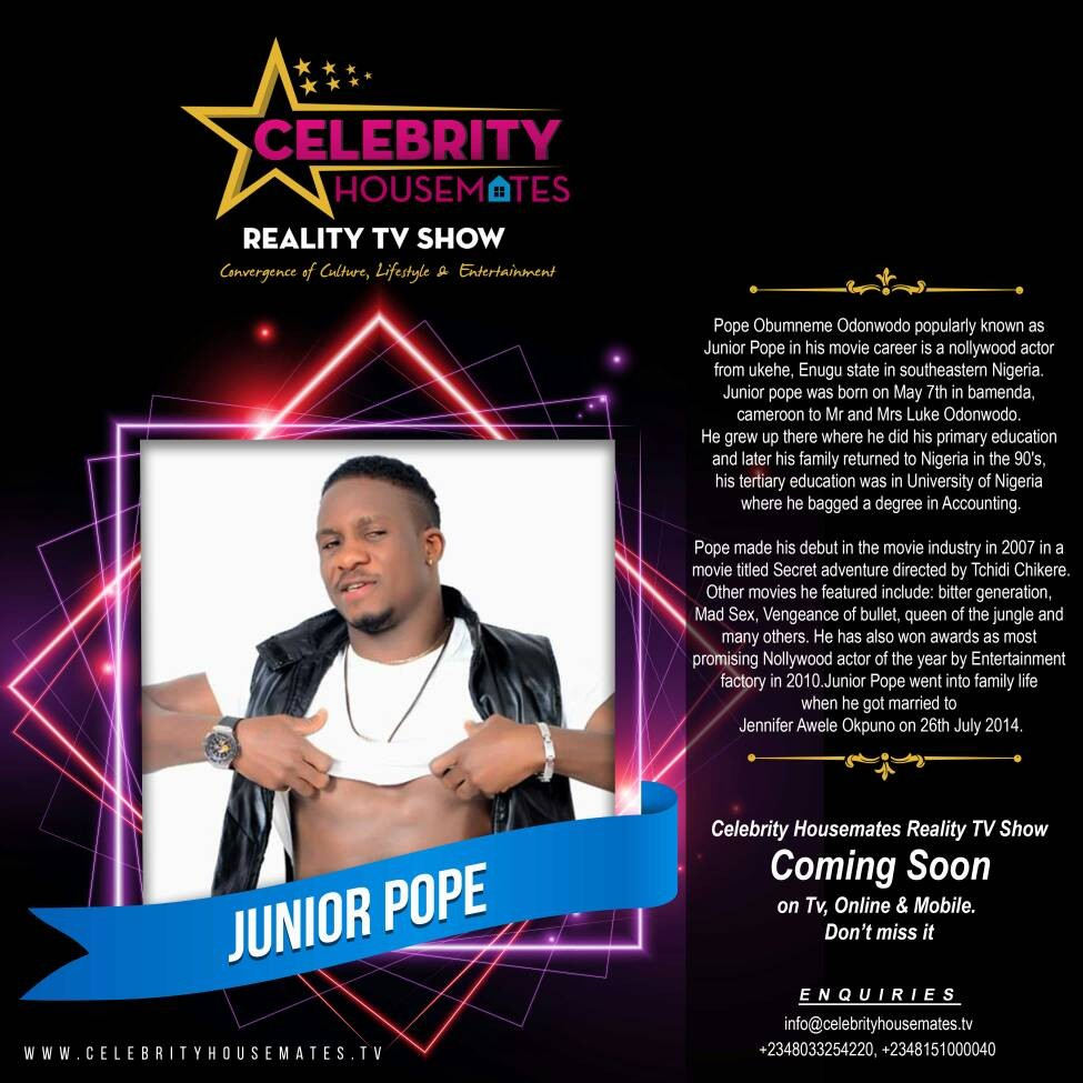 ?Watch ???Eniola Badmus, Ruggedman, Yomi fash lanso, Doris Simeon?in the new celebrity reality TV show CELEBRITY HOUSEMATES.?