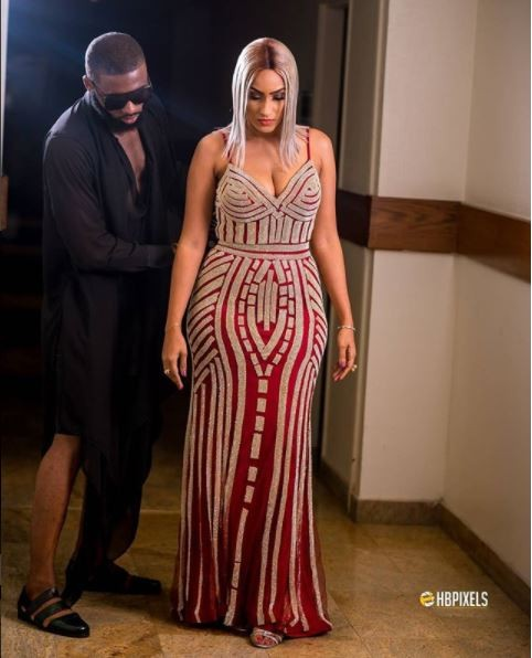 #SoundcityMVPAwards: Juliet Ibrahim stuns in her glittering dress? (Photos)