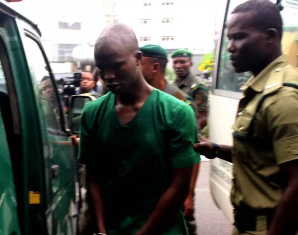 Suspected Ritual Killer, Ifeanyi Dike, collapses during trial (photos)