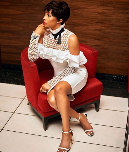 Toke Makinwa debuts pixie cut...and it looks great on her