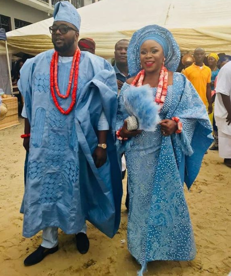 #TOY18: Check out Omawumi and her husband, Tosin Yusuf