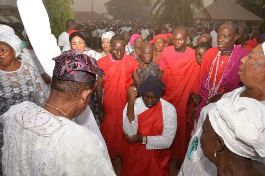 Photos from?Installation ceremony of Gani Adams as the 15th Aare Ona Kakanfo of Yorubaland