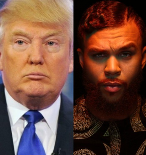 Singer, Jidenna reacts to Donald Trump