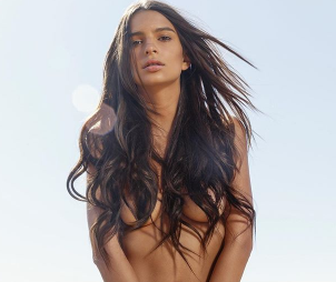 Supermodel, Emily Ratajkowski poses completely nude in new photo