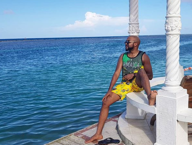 Photos: Banky W and Adesua holiday in Jamaica