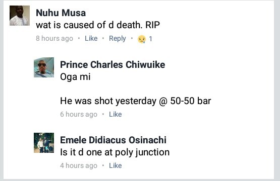 Photos: NYSC member shot dead in Nekede, Imo State