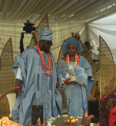 More official photos from Omawumi & Tosin Yusuf