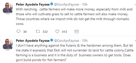 Governor Fayose kicks against FG