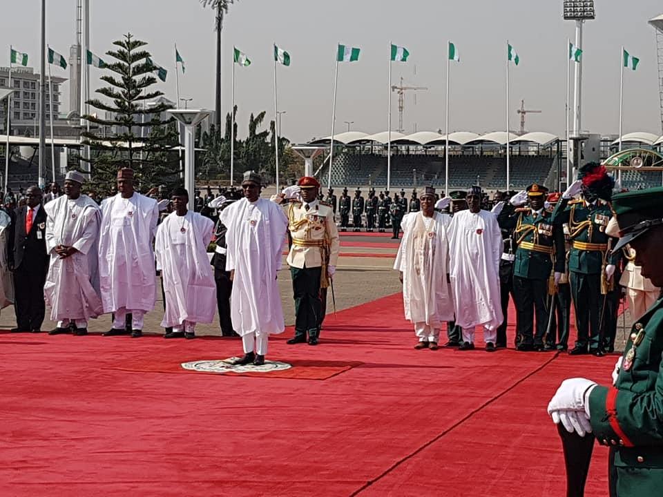 (Photos ) President Buhari, Osinbajo, Saraki, Dogara, & Others At The 2018 Armed Forces Remembrance Celebration.