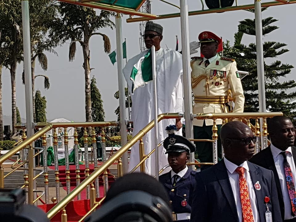 Photos of President Buhari, Osinbajo, Saraki, Dogara, others at the 2018 Armed Forces Remembrance day celebration