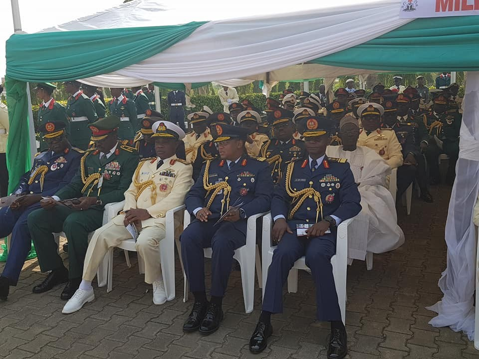 Photos of President Buhari, Osinbajo, Saraki, Dogara, others at the 2018 Armed Forces Remembrance day celebration