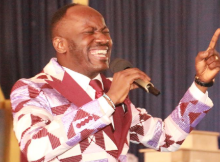 """Anyone that is buying arms and sponsoring the killings in Nigeria, may his generations be wiped out to the 7th generation"" Apostle Johnson Suleman prays (video)"