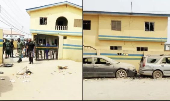 Angry youths vandalise?police station in Ogun State