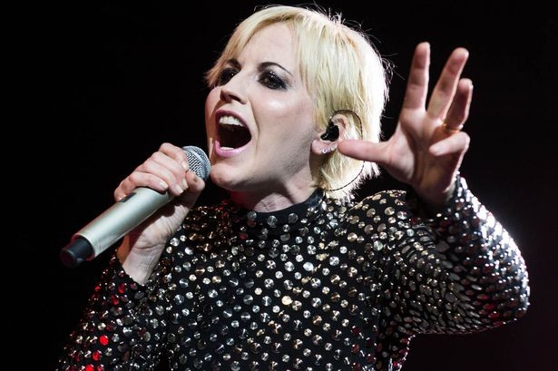 Irish rock star Dolores O