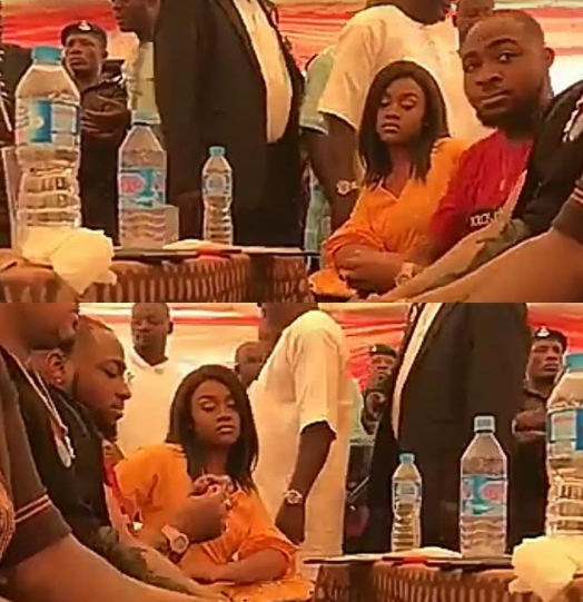 Photos: Davido finally steps out with his current girlfriend, Chioma