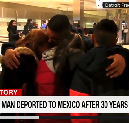 Detroit man deported to Mexico after 30 years in US