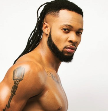 Singer, Flavour, shares shirtless photo wearing only his briefs