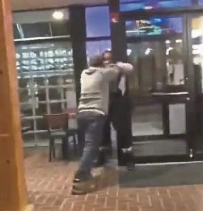 Pizza Manager fired after video of him beating up a black woman surfaces