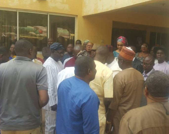 Photos:?PDP National leadership visits Benue state to condole with the families affected by herdsmen attack