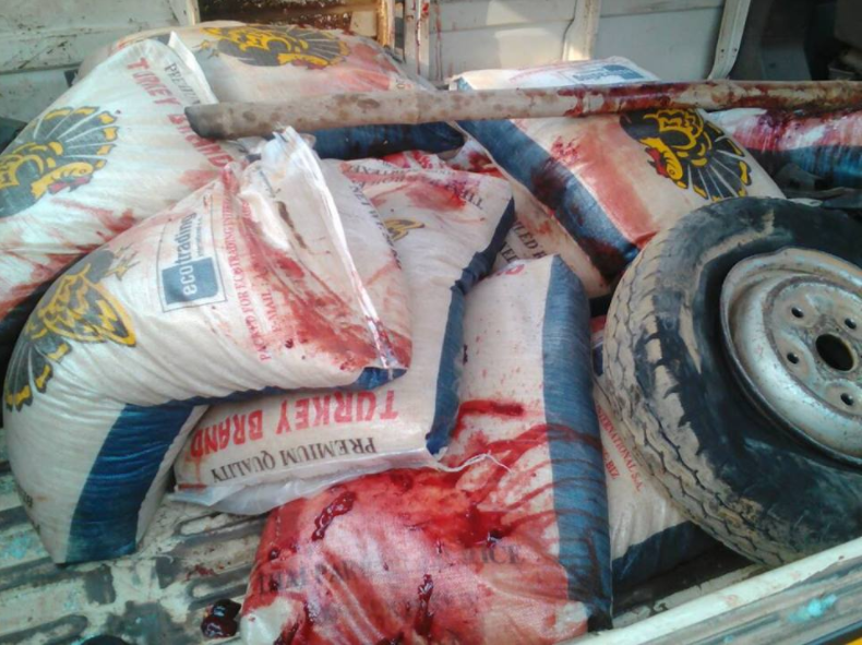 Riot in Abule Egba Lagos as Customs officers kill suspected rice smuggler (photos)
