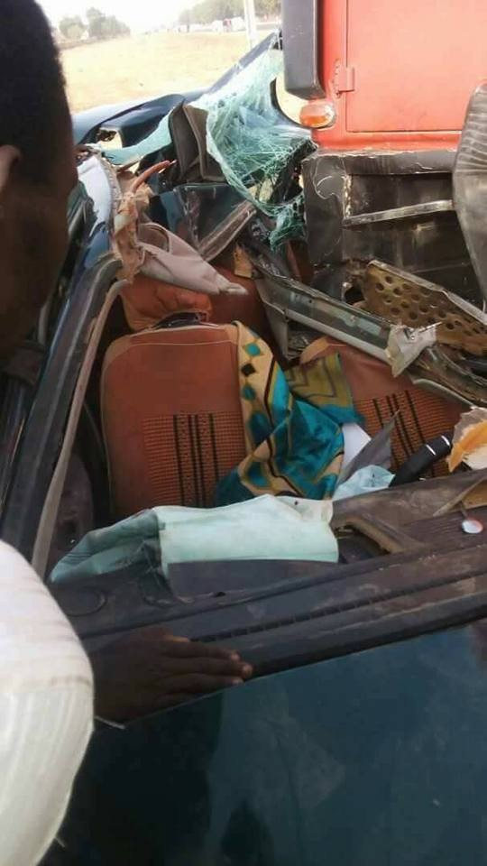 APC chieftain in Yobe state loses two of his sons in a fatal accident(photos)
