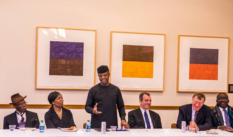 Photos from VP Osinbajo