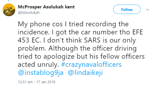 Man recounts theabuse he suffered in the hands of naval officers at Mile 2 Lagos