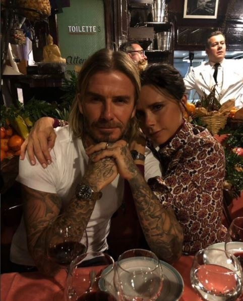 Victoria Beckham shares loved-up selfie with her husband David as they hang out in Paris (Photos)