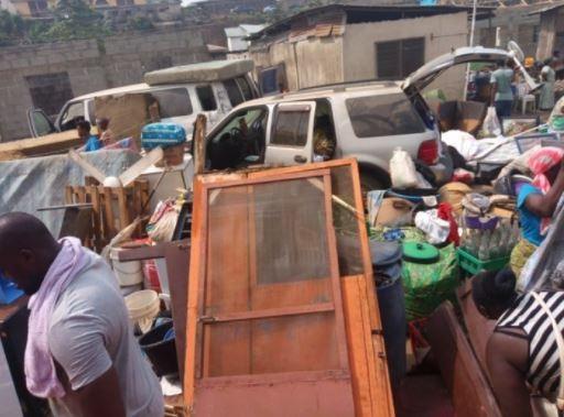 Lagos State demolishes 21 buildings in Ogudu