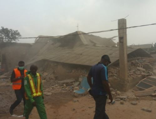 Lagos State demolishes 21 buildings in Ogudu