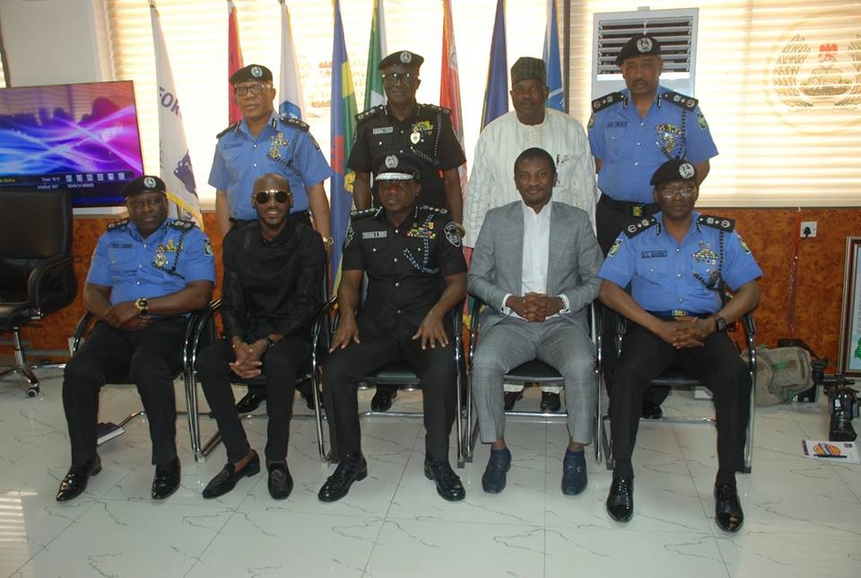 Benue killings, 2face Idibia visits IGP, Idris Ibrahim