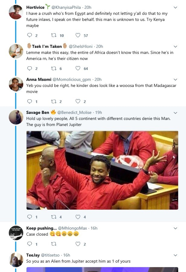 Africans deny South Africa