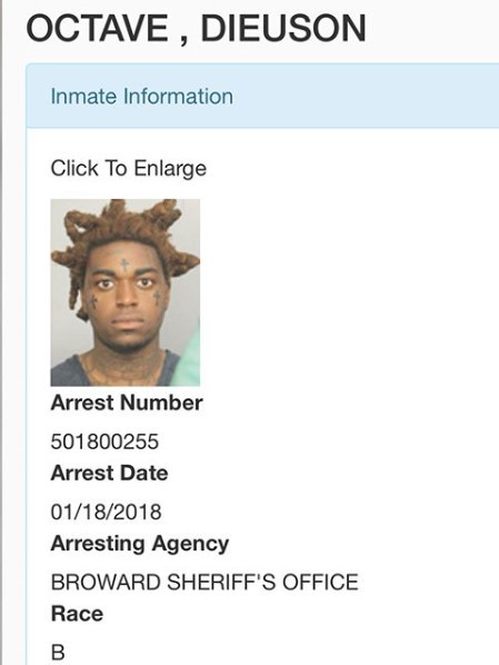 Rapper Kodak Black arrested while on Instagram Live