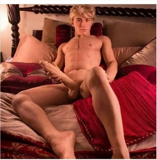 Photo: Male Sex-Doll with giant eggplant for ladies hit the internet (18 + Ladies Only)