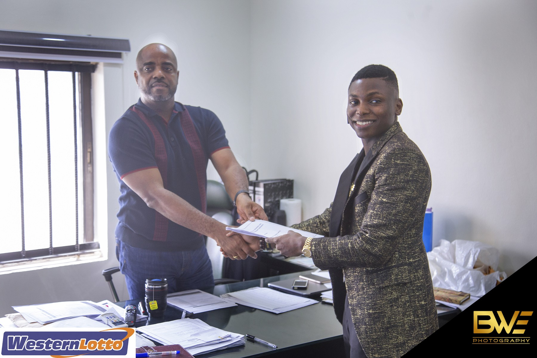 Born Winners Empire signs a media partnership deal with Western Lotto